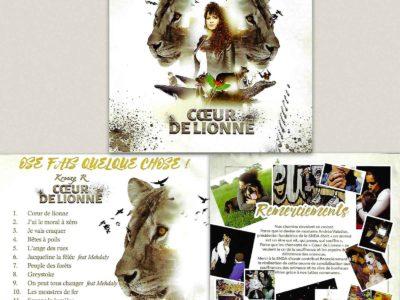 Kreezy R. Un CD de chansons contre la maltraitance animale
