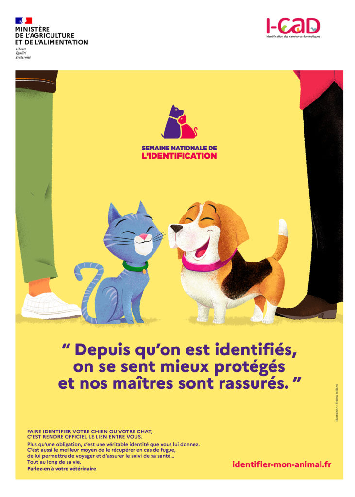 ICAD Affiche semaine nationale de l'identification