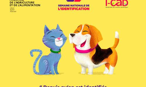 La SNDA soutient la Semaine Nationale de l'identification des chiens et des chats